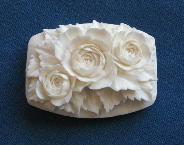 Soap carving art by yung cohn
